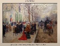 Photo n° 50464 PARIS et les attelages de la Belle Epoque  Affichée 0 fois Ajoutée le 07/06/2021 10:27:45 par JeanClaudeGrognet  --> Cliquer pour agrandir <--