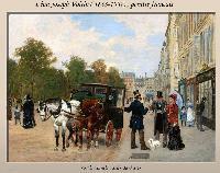 Photo n° 50492 PARIS et les attelages de la Belle Epoque  Affichée 1 fois Ajoutée le 08/06/2021 13:01:09 par JeanClaudeGrognet  --> Cliquer pour agrandir <--